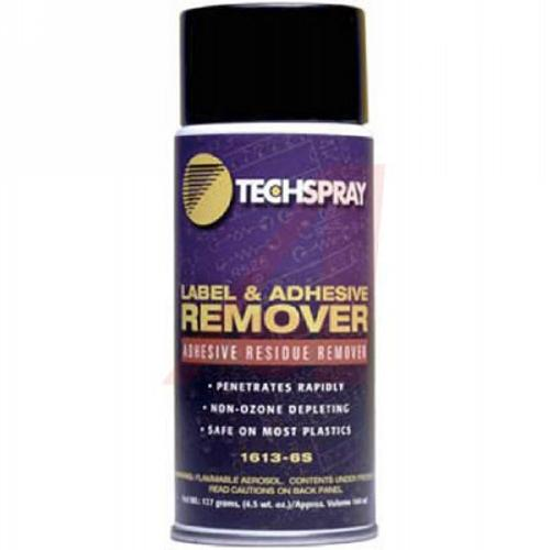 Label   Adhesive Remover   4 5 oz 1613 6S