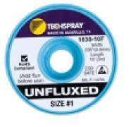 ESD Unfluxed White  1 Braid 1830 10F
