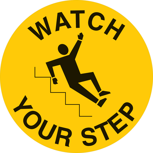 Floor Safety Sign 49807