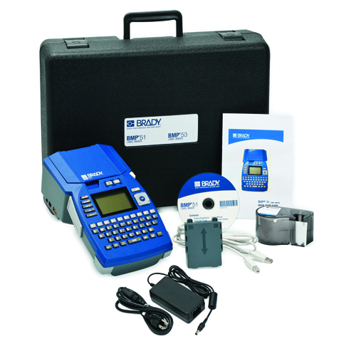 BMP51 Label Maker with AC Adaptor BMP51 KIT AC