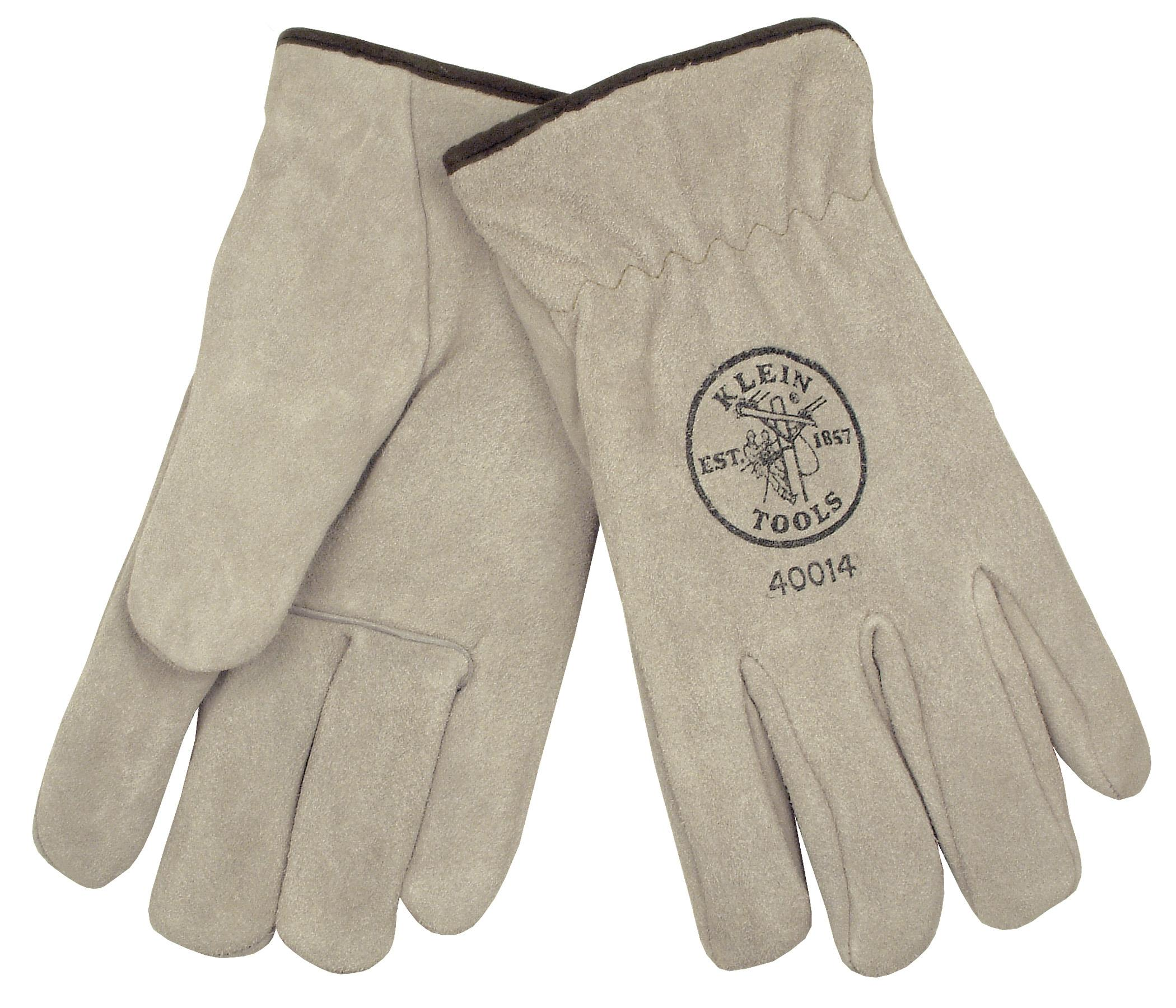 Suede Cowhide Driver s Gloves   Lined 40014