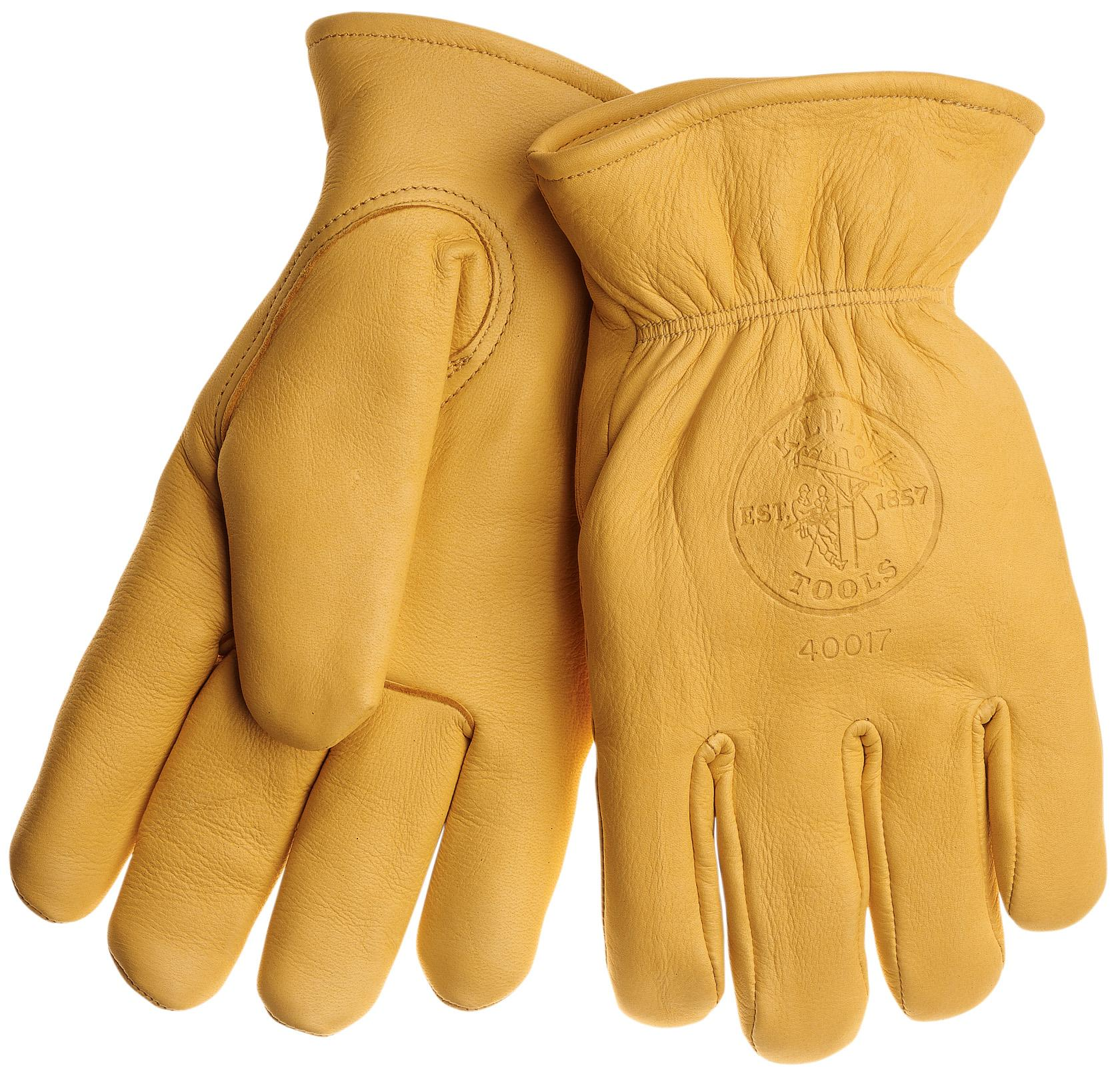 Cowhide Gloves with Thinsulate  Medium 40016