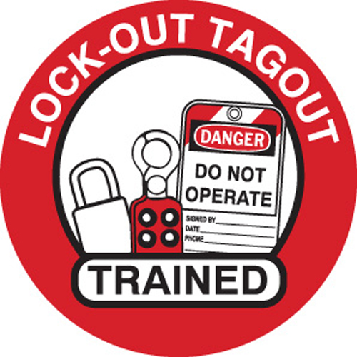Hard Hat Labels   LOTO Trained 42248