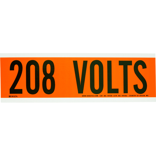 Conduit   Voltage Markers 44106