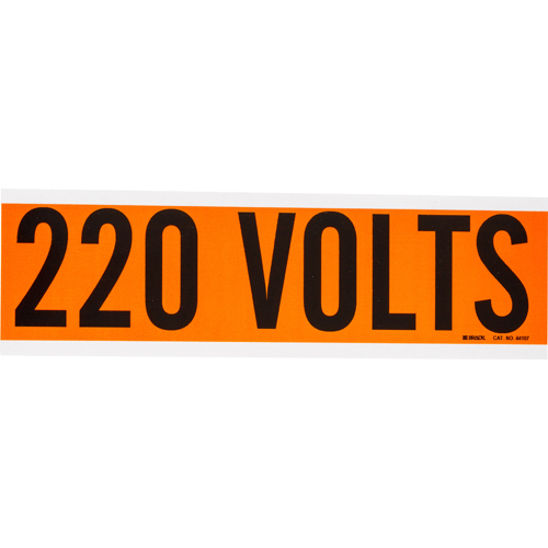 Conduit   Voltage Markers 44107