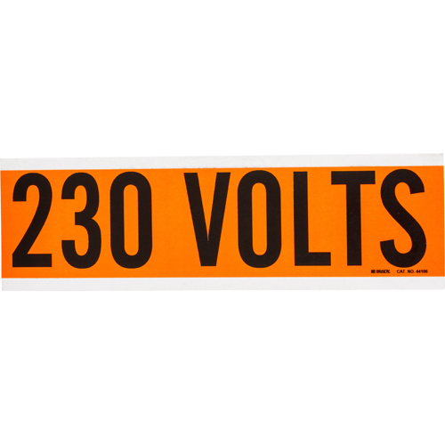 Conduit   Voltage Markers 44108