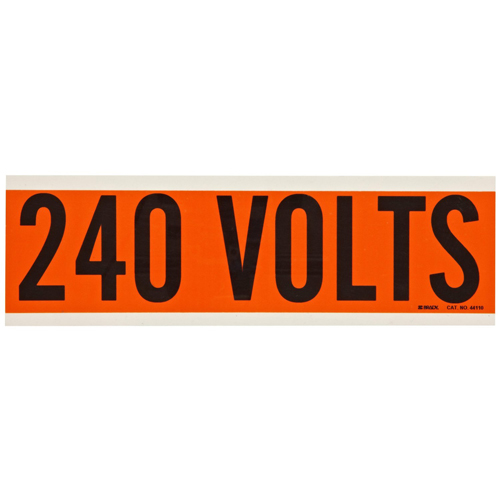 Conduit   Voltage Markers 44110