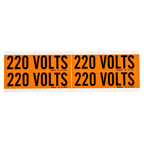 Conduit   Voltage Markers 44207