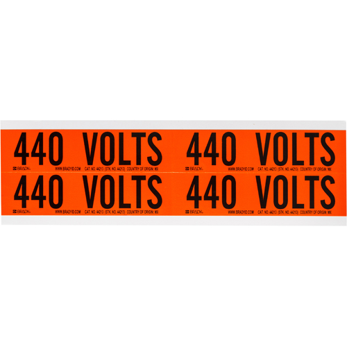 Conduit   Voltage Markers 44213