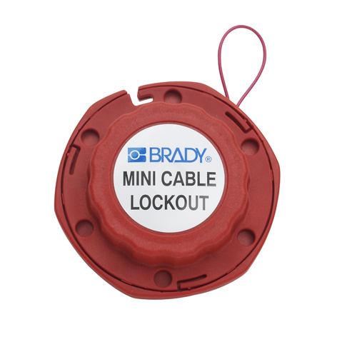 MINI CABLE LOCKOUT W METAL CABLE 50940