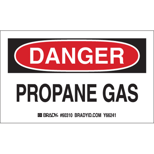 Gas Cylinder Labels 60310