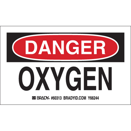 Gas Cylinder Labels 60313