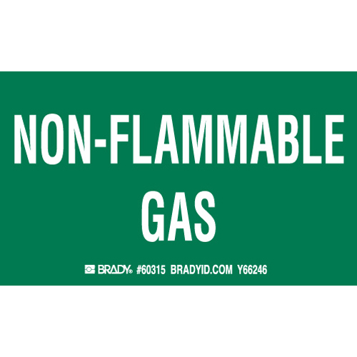 Gas Cylinder Labels 60315